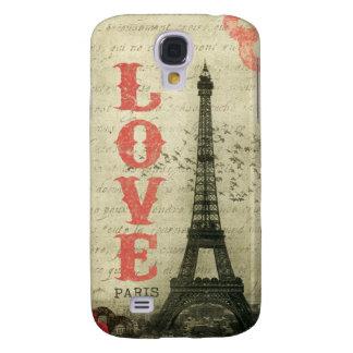 Vintage Paris Galaxy S4 Cases