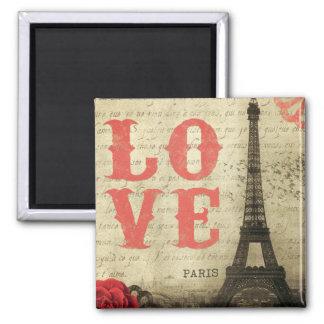 Vintage Paris Imã De Geladeira