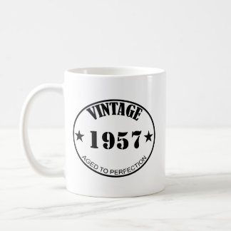Vintage personalizable customizável caneca