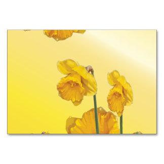 Vintage retro do Daffodil amarelo do narciso