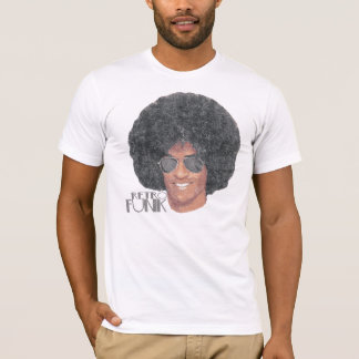 Vintage retro do funk camiseta