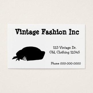 Vintage retro simples dos trabalhos de arte da cartão de visitas