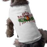 Vintage Selecção retro DAS Quinas Presentes Camisa Sem Mangas Para Cachorro