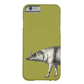 Vintage selvagem de Warthog do porco do varrão do Capa Barely There Para iPhone 6