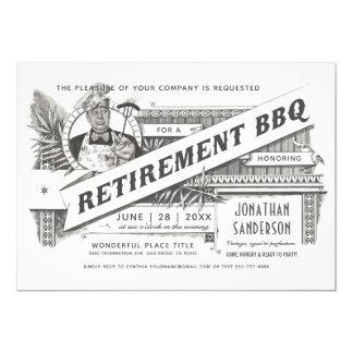 Vintage supremo dos convites | do CHURRASCO do
