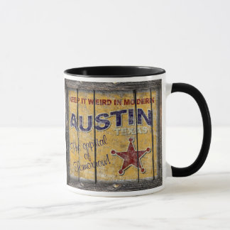 Vintage Texas - caneca de Austin