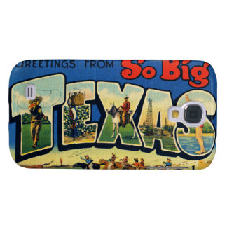 Vintage Texas Galaxy S4 Covers