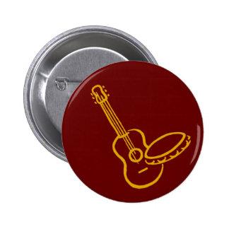 violão e pandeiro botons