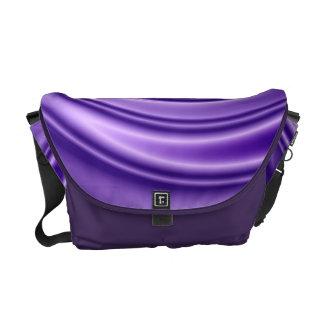 violeta 3D espiral Bolsa Mensageiro