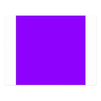 Violeta elétrica cartão postal