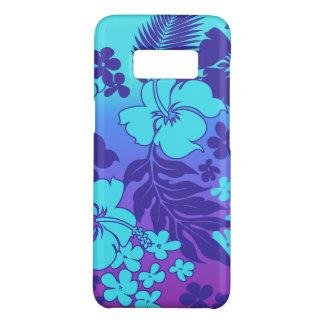 Violeta havaiana de Turq do hibiscus da mistura de Capa Case-Mate Samsung Galaxy S8