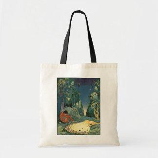 Violette que dorme na floresta bolsa para compra