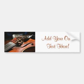 Violino Adesivo Para Carro