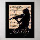 Violino… Apenas poster do jogo 16x20