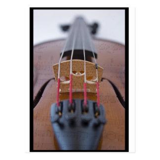 Violino Cartão Postal