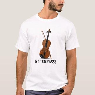 Violino e arco do violino da música de BLUEGRASS Camiseta