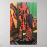 Violino e guitarra por Juan Gris, Cubism do Impressão