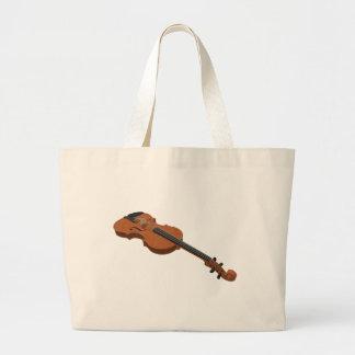 Violino: modelo 3D: Bolsa De Lona