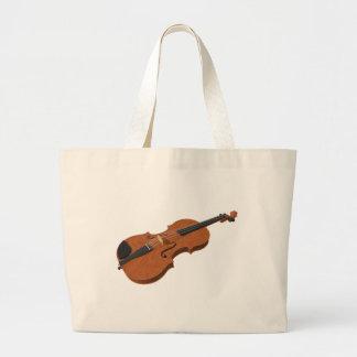 Violino: modelo 3D: Sacola Tote Jumbo