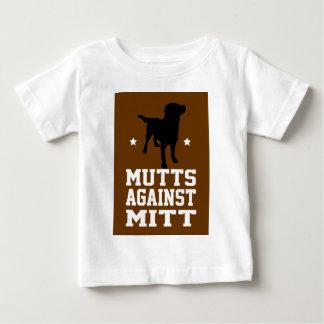 vira-lata contra a luva t-shirt