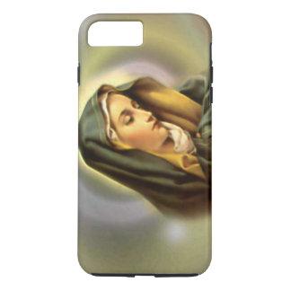 Virgem Maria abençoada dolorosa na oração Capa iPhone 7 Plus