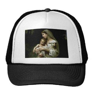 Virgem Maria abençoada que guardara a criança Jesu Bones