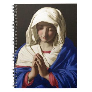 Virgem Maria Caderno