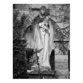 Virgem Maria Cartão Postal