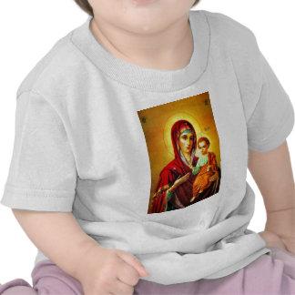Virgem Maria e Jesus T-shirt