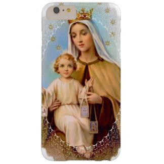 Virgem Maria Monte Carmelo Jesus Scapular Capa Barely There Para iPhone 6 Plus