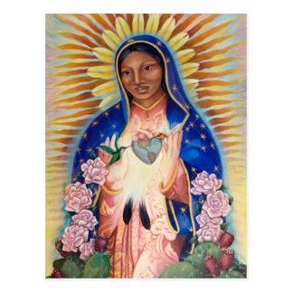 Virgem Maria - nossa senhora Guadalupe Cartão Postal