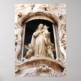 Virgem Maria Pôster