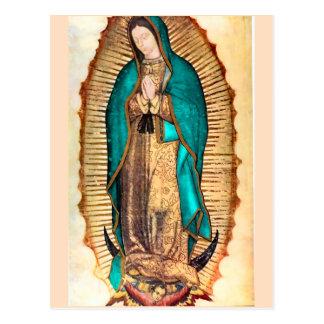 Virgen de Guadalupe Cartão Postal