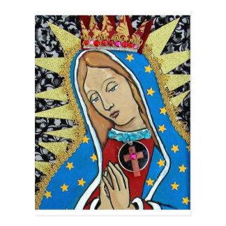 Virgin de Guadalupe Cartão Postal