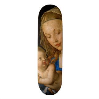 Virgin e criança com a pera por Albrecht Durer Skate