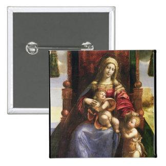 Virgin e criança com o St John infantil Botons