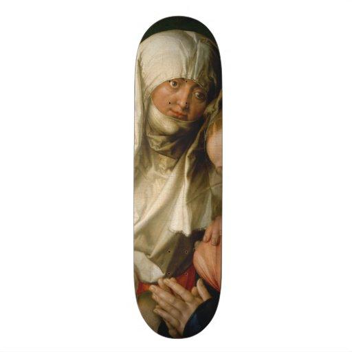 Virgin e criança com santo Anne por Durer Skate