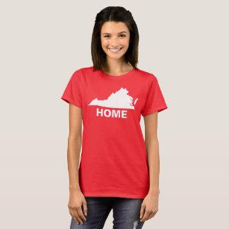 Virgínia é t-shirt HOME: Camisa do VA da camisa de