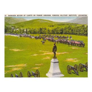 Virginia Military Institute do vintage Cartão Postal