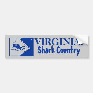 Virgínia: País do tubarão Adesivo Para Carro