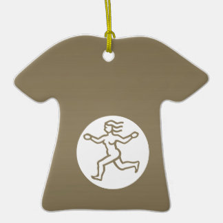 VIRGO - símbolo do ZODÍACO Enfeite De Natal