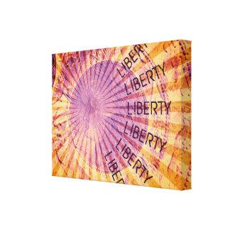 Visão da liberdade impressão em tela canvas