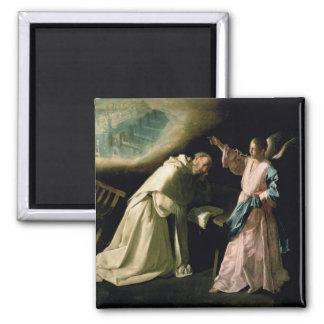 Visão de St Peter Nolasco, 1629 Ímã Quadrado