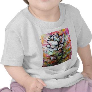 Visão desenho preto e branco por Shadia Zayed T-shirt