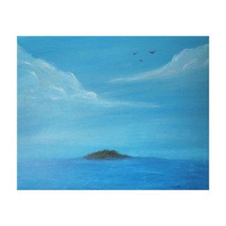 Visão do paraíso impressão em tela canvas