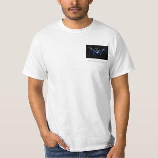 Visão universal t-shirts
