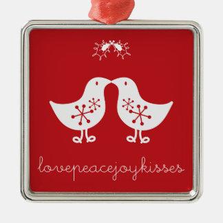 Visco que beija enfeites de natal bonitos dos