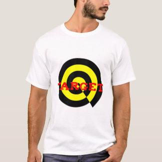 Vise no amarelo preto vermelho no t-shirt dos camiseta