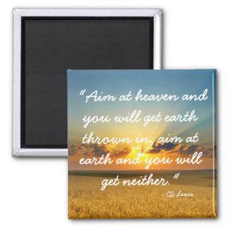 Vise o ímã das citações de Lewis do CS do céu Imã