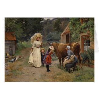Visita ao cartão da fazenda